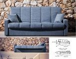 Sofa Cama  metalico