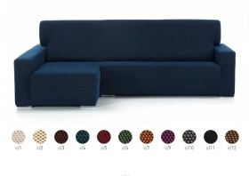 Funda Sofa Chaise longue elastica Brazo Largo