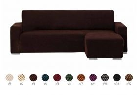 Funda Sofa Chaiselongue elastica Brazo Corto